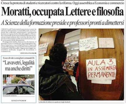 Bologna lettere occu...